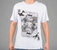 HobbyKingアパレルキングカードコットンシャツ(XL)