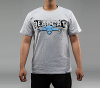 HobbyKingアパレルDeadCat 100pcntのコットンシャツ(XXXL)