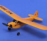 HobbyKing®™マイクロJ3トレーナーカブ450ミリメートルのw / TX /リポ/プロップ(RTF)