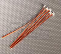 Ar6300ミニJSTプラグアンドサーボリード(5PC)