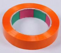 ウイングテープ45mic×24ミリメートルのx 100メートル(ナロー - オレンジ)
