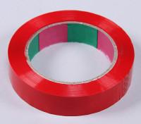 ウイングテープ45mic×24ミリメートルのx 100メートル(ナロー - レッド)
