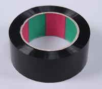 45micのx 45ミリメートルのx 100メートル(ワイド - ブラック)ウィングテープ