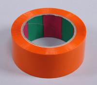 45micのx 45ミリメートルのx 100メートル(ワイド - オレンジ)ウィングテープ
