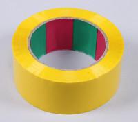 45micのx 45ミリメートルのx 100メートル(ワイド - イエロー)ウィングテープ
