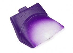 Durafly® ™ Tundra - Foam Canopy / Battery Hatch w/Magnet (Purple/Gold)