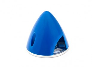 Nylon Spinner with Alloy Backplate 38mm Blue (5mm Mounting Hole)