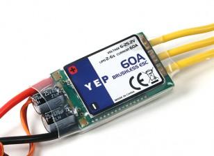 HobbyKing YEP 60A(2〜6S)SBECブラシレススピードコントローラー