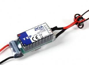 Hobbyking YEP 20A HV(2〜12S)SBEC選択可能な電圧出力/ワット