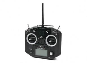 FrSky Taranis Q X7 Digital Telemetry Radio System 2.4GHz ACCST (Black-no plugs) (EU Version)
