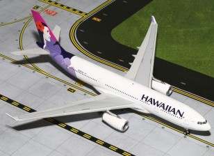 Gemini Jets Hawaiian AIrlines Airbus A330-200 N382HA 1:200 Diecast Model G2HAL516