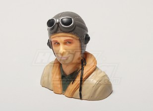 WW2 /クラシック時代のパイロット(H64 X W66 X D35mm)