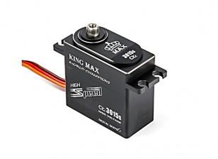 キングマックスCLS3015S高トルク/ BB / DS / MGサーボ/アルミケース35キロ/ 0.13sec / 80グラムのw