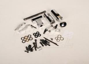 RJXフライバーレスヘッドアセンブリトレックス700 / 0.90サイズ