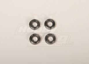 X90 / 700メインブレードホルダーベアリング8x16x5(4個/袋)