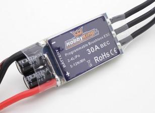 HobbyKing 30A BlueSeriesブラシレススピードコントローラー