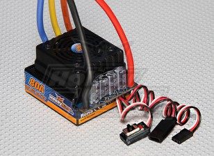 HobbyKing®™80Aセンサ付き/センサレスカーESC(1:8/1:5)