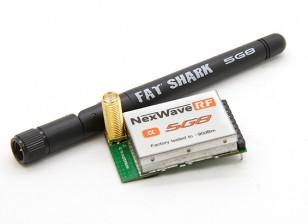 FatSharkドミネーターの5.8GHz帯モジュール。