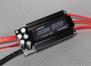 Turnigyモンスター-2000 200A 4-12SブラシレスESC