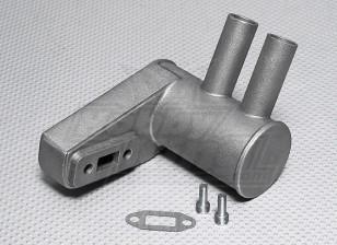 20CCガスエンジン用ピッツマフラー