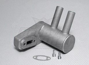 た30cc〜33ccのガスエンジン用ピッツマフラー