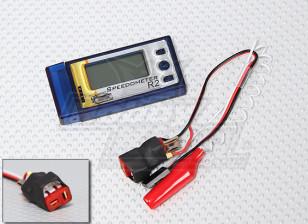 RCカー用HobbyKing R2スピードメーター