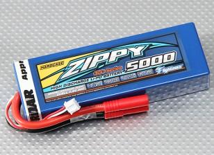 ジッピーFlightmax 5000mAに2S1P 30Cのハードケースパック(ROARはAPPROVED)(DE倉庫)
