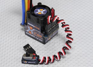 HobbyKing®™X-カー45AブラシレスカーESC(センサ付き/センサレス)