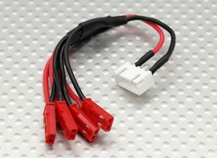 JST LED配電リード(4 JST)にJST-XH