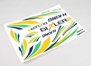 Hobbyking Bixler 2 EPO 1500ミリメートル - 交換用デカール
