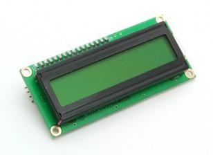 イエロー/グリーンディスプレイ付きKingduino IIC / I2C 1602 LCDモジュール