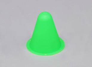 R / Cカートラックやドリフトコース用プラスチックレーシングコーン - 緑(10個入り/袋)