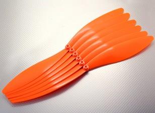 GWS EPプロペラ(EP1575 / 381x191mm)オレンジ(6PCS /パック)