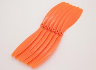 GWS EPプロペラ(RD-1080の254x203mm)オレンジ6本/袋