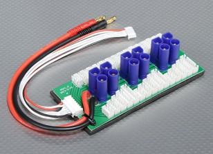 6パック2〜6SについてHobbykingパラレルチャージボード(EC5)