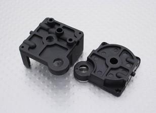 トランスミッションバルクヘッドセット -  1/16 Turnigy 4WDナイトロレーシングバギー、A2040およびA3011