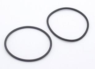 バッテリーラバーリングを修正 -  1/10 Turnigy GT-10Xパンカー(2個)