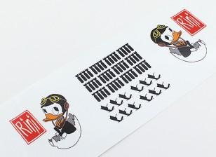 """TD-024ノーズアート - 「リニ """"L / R利きデカール"""