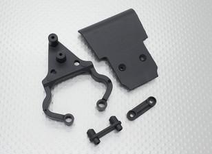 Quanumスカルクラッシャー2WD  - フロントバンパーセット、マウント&ホルダー