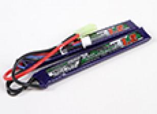 Turnigyナノテクノロジーの1200mAh 2S 25-50CリポAIRSOFTパック