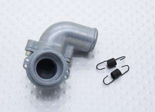 0.07エンジン用交換マニホールド -  Turnigy 1/16 4WDナイトロレーシングバギー、A3011