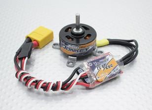 HobbyKingドンキーST2204-1700kvブラシレスパワーシステムコンボ