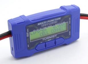 Turnigy 100A 60V多機能ワットメーター/温度センサワット
