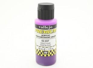 ヴァレーオプレミアムカラーアクリル塗料 - バイオレットのFluo(60ミリリットル)