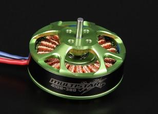 4108-380KV Turnigy Multistarエクストラロングリードで22ポールブラシレスマルチローターモーター