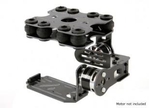 アクションカム用衝撃吸収2軸ブラシレスジンバルキット