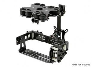 カードタイプカメラ用2軸ブラシレスジンバルキット衝撃吸収 - グラスファイバーバージョン