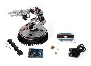 コントロールボードとPCリンク/ワット365ミリメートルロボットアーム