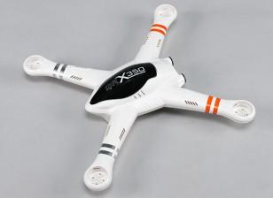 Walkera QR X350 GPSクワッドローター - ボディセット