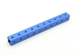 RotorBits予め穿孔アルマイト建設プロファイル100ミリメートル(ブルー)